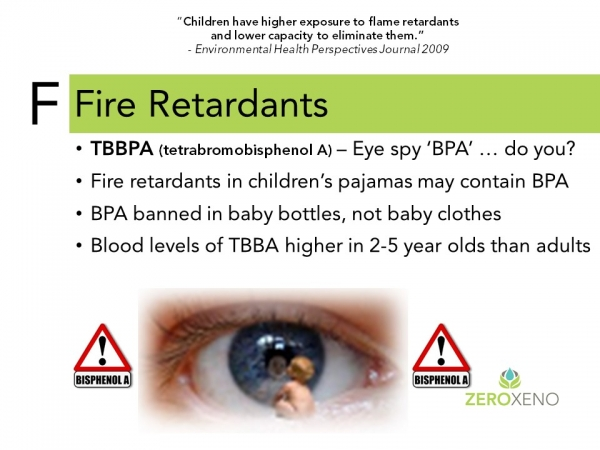 The 7 Deadly Estro-Sins: Fire Retardants