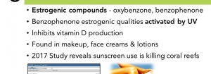 The 7 Deadly Estro-Sins: Sunscreen